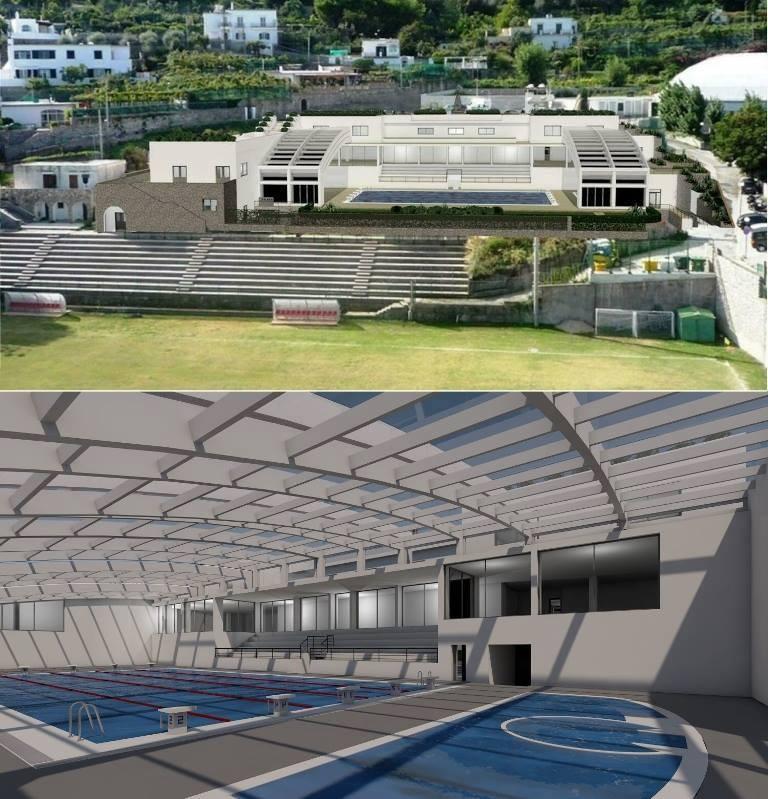Indizione gara per la progettazione definitiva, esecutiva, la costruzione e la gestione di un impianto polivalente con annessa piscina con copertura apribile in loc. San Costanzo