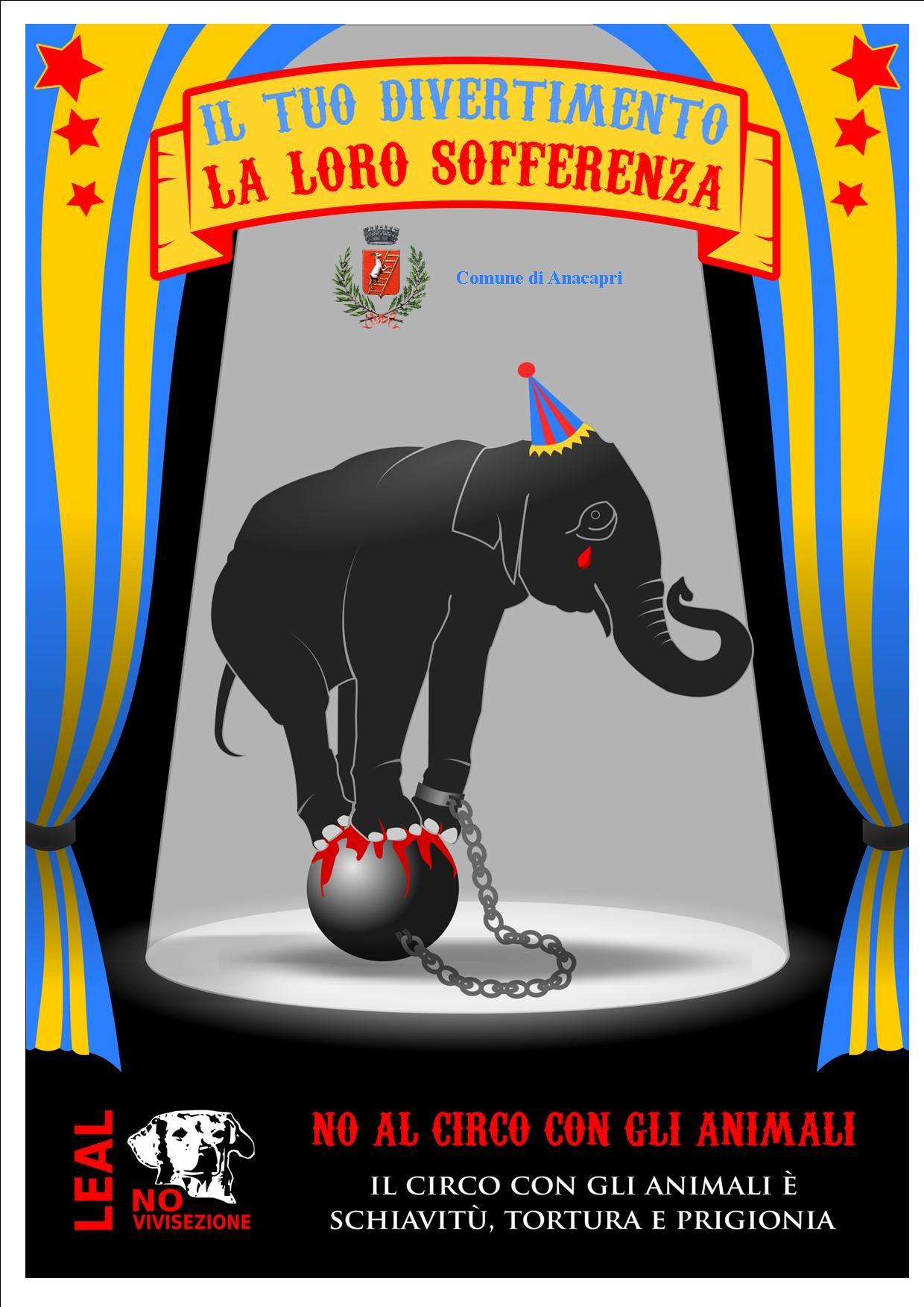 COMUNICATO STAMPA                                                             Campagna tutela animali da circo