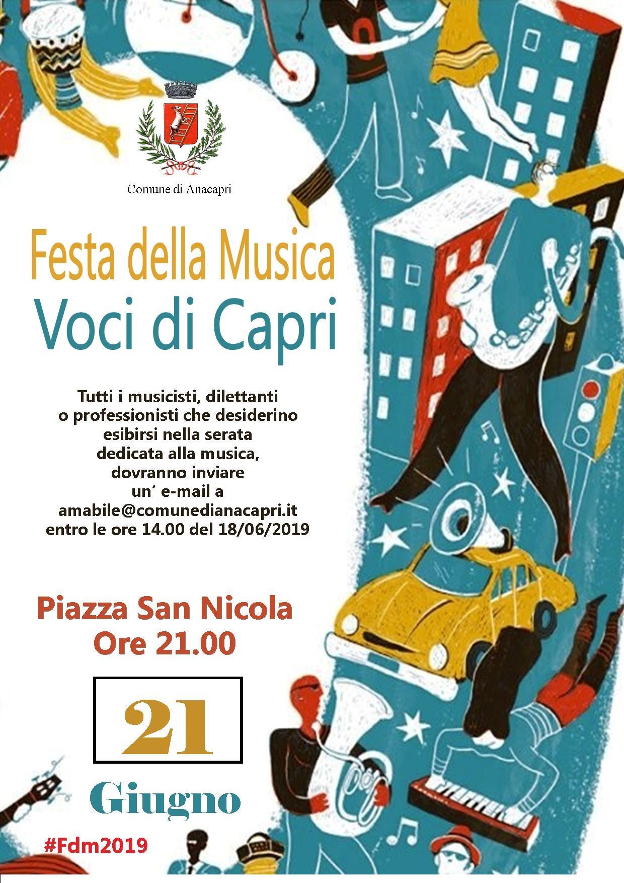 Festa della Musica - Voci di Capri