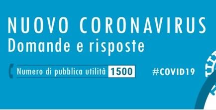 Nota informativa nuovo Coronavirus
