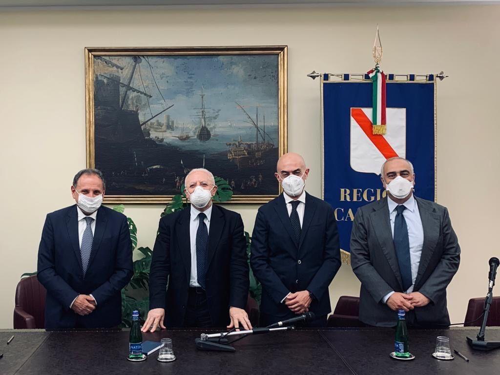"""Firmato oggi il protocollo d'intesa """"Isola di Capri SICURA - COVIDfree"""""""