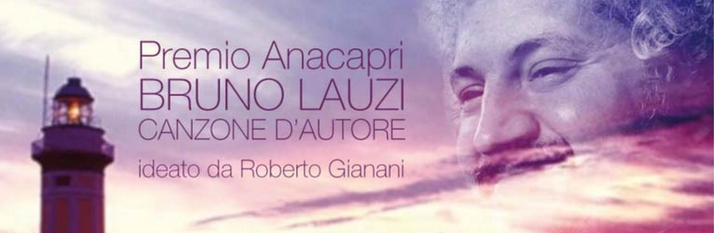 """Premio Anacapri """"Bruno Lauzi"""" - Canzone d'autore"""