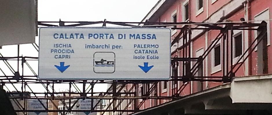 Problematica Servizio Navetta Molo Beverello Stazione