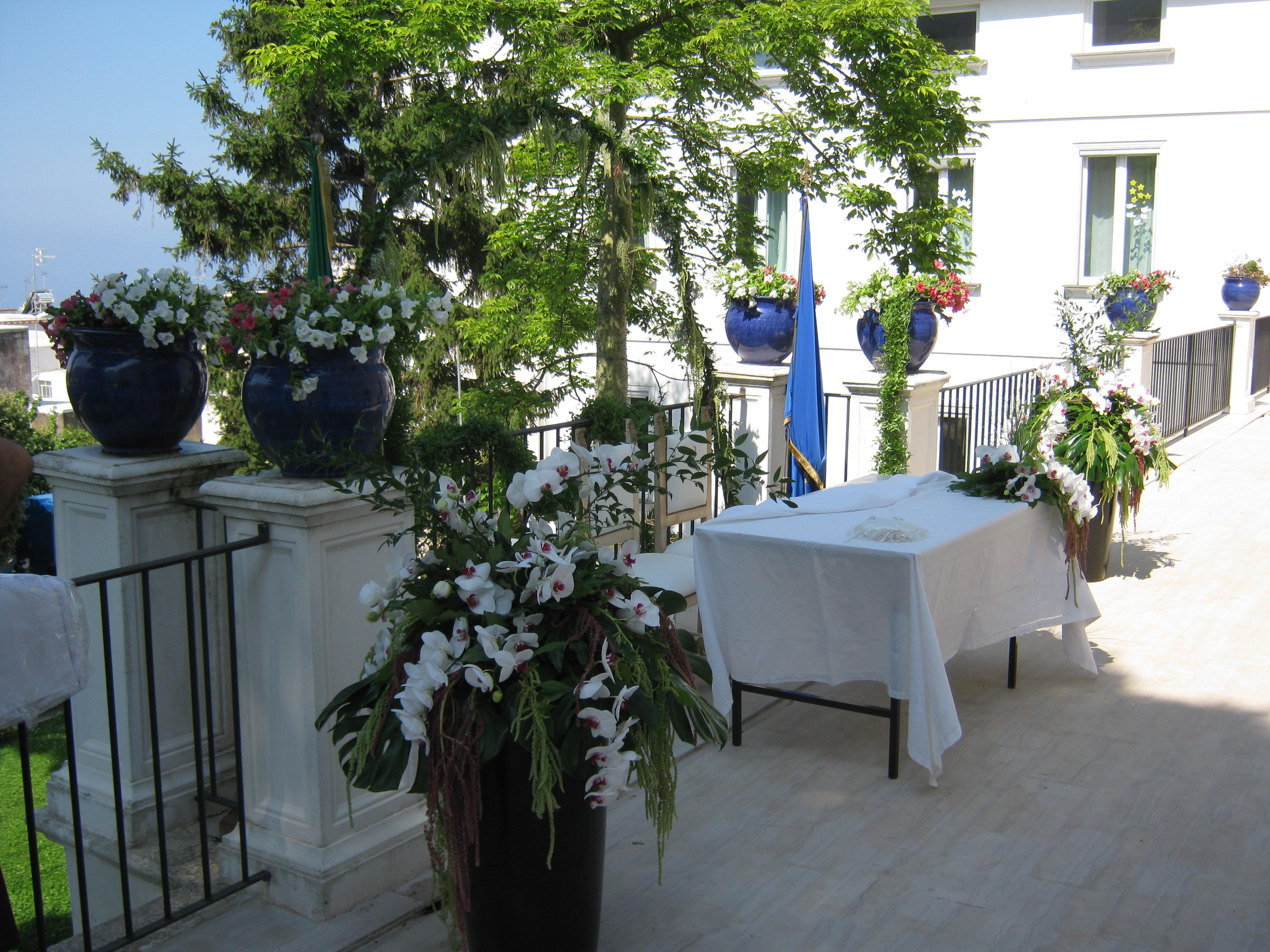 Terrazzo casa Comunale - Matrimonio